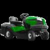 Садові трактори й райдери